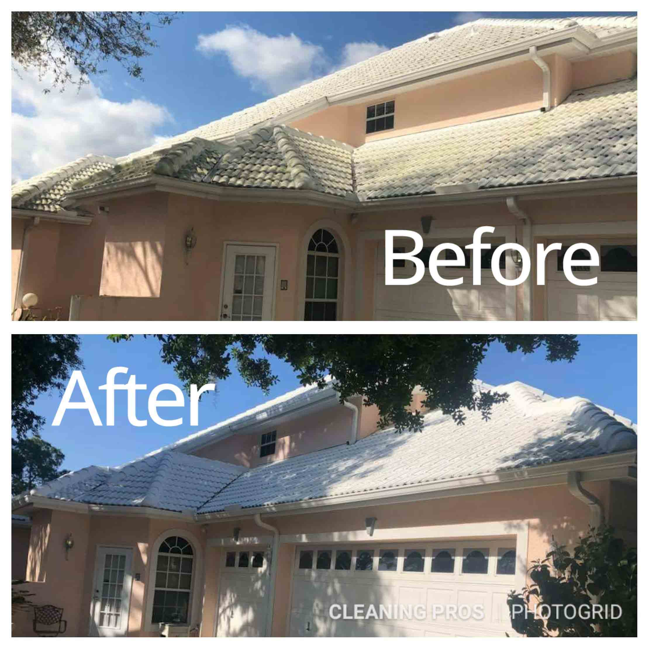 Roof Cleaning Service in Hunters Creek, FL