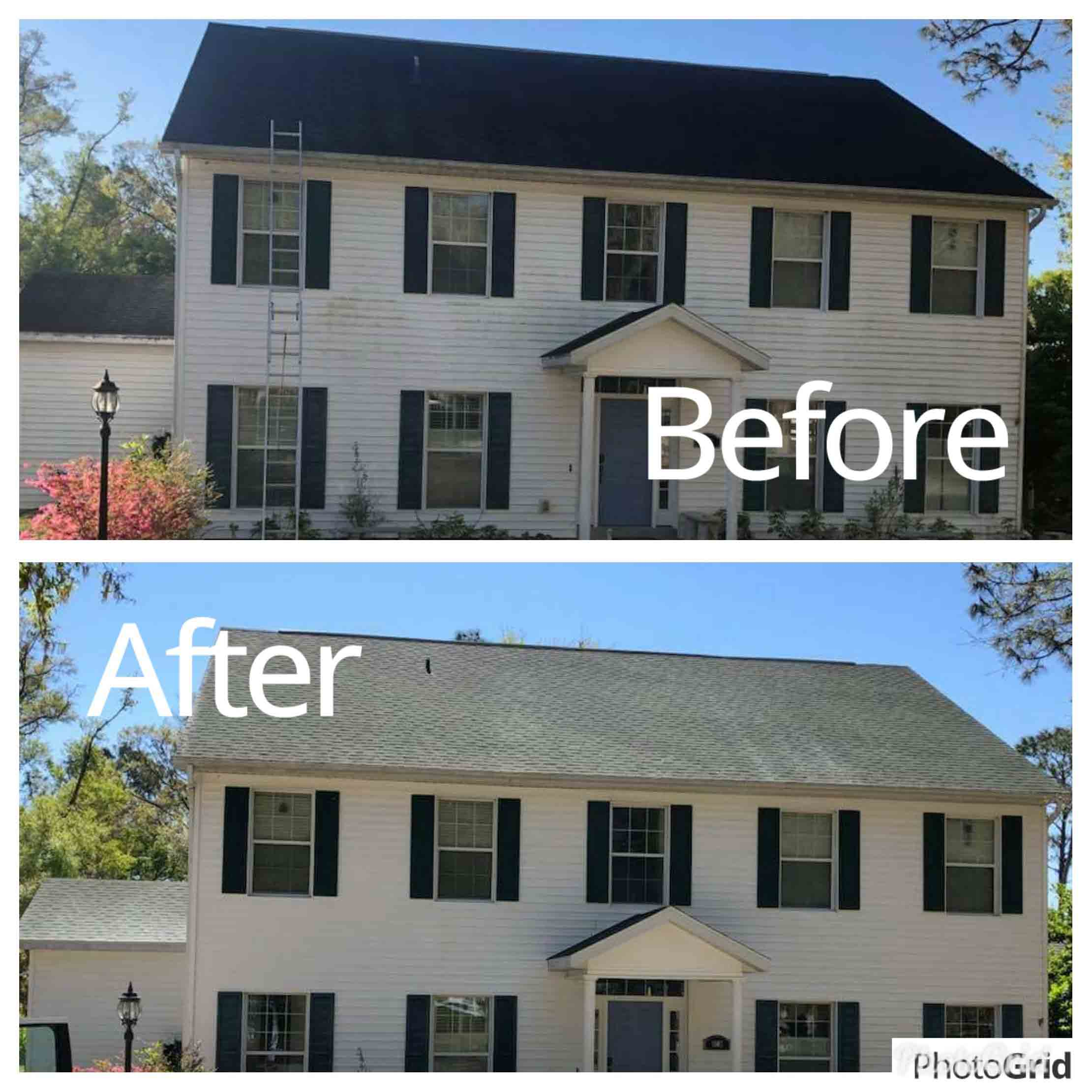Roof Cleaning Service in Ormond Beach, FL