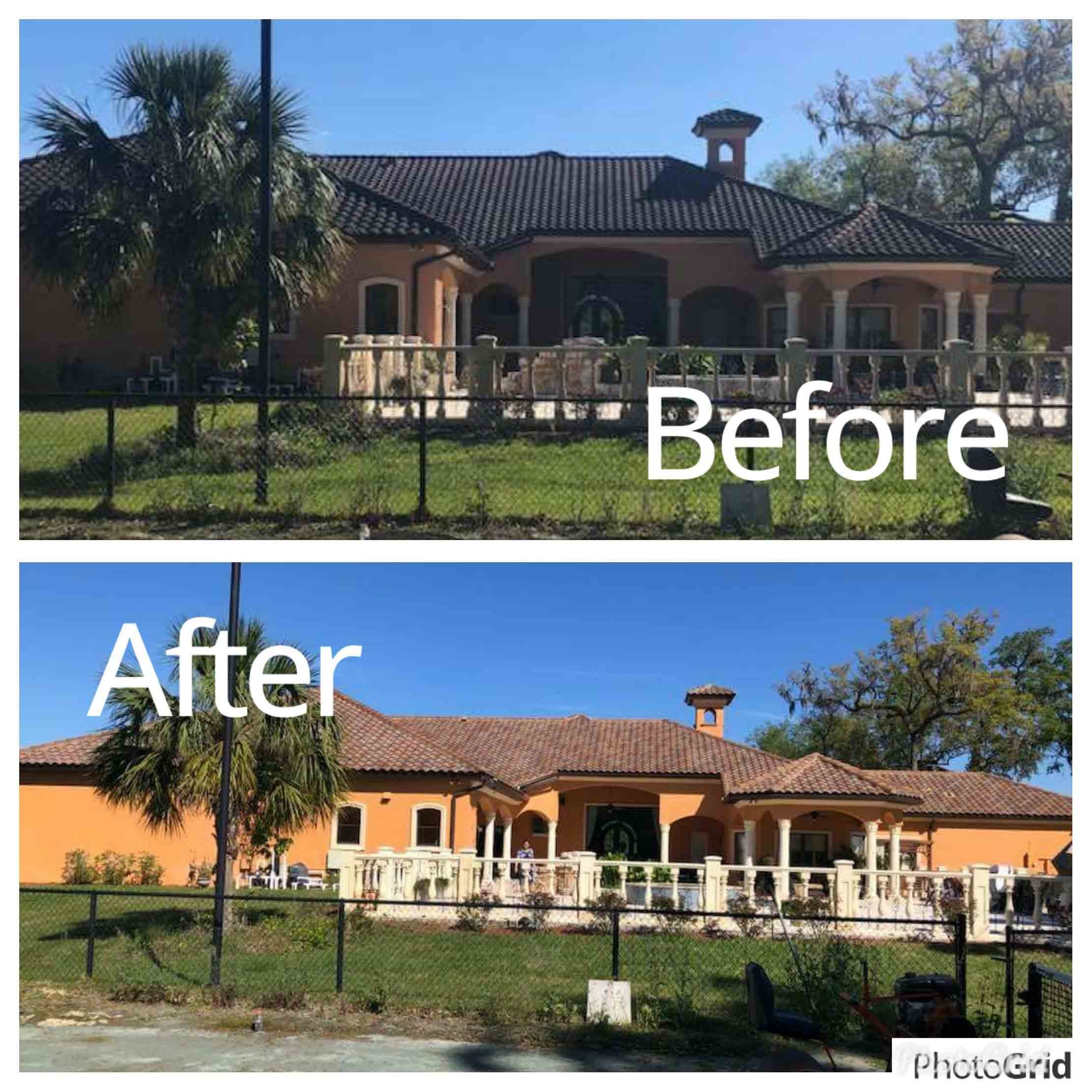 Roof Cleaning Service in Sanford, FL