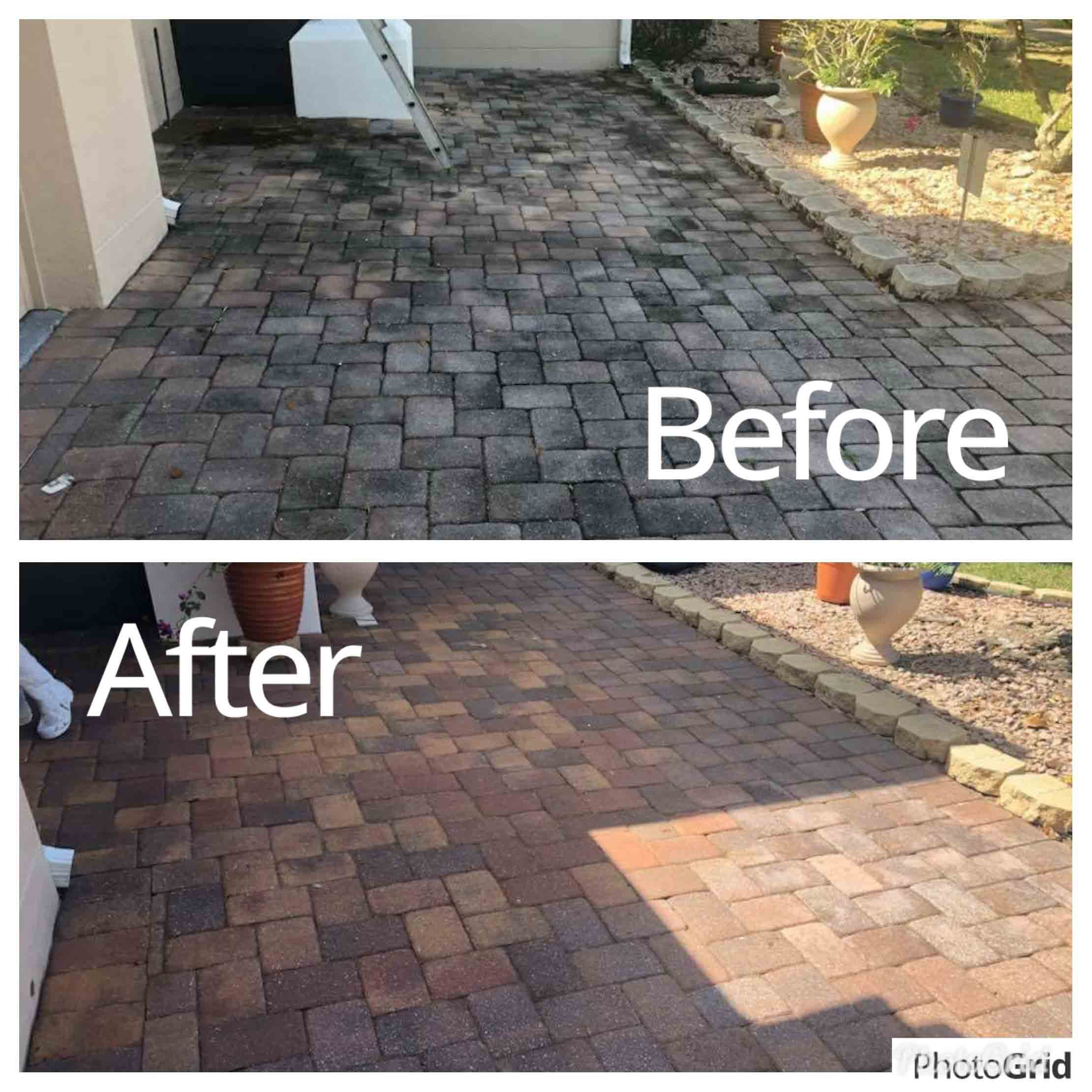 Pavers Cleaning Service in Lake Forest, FL