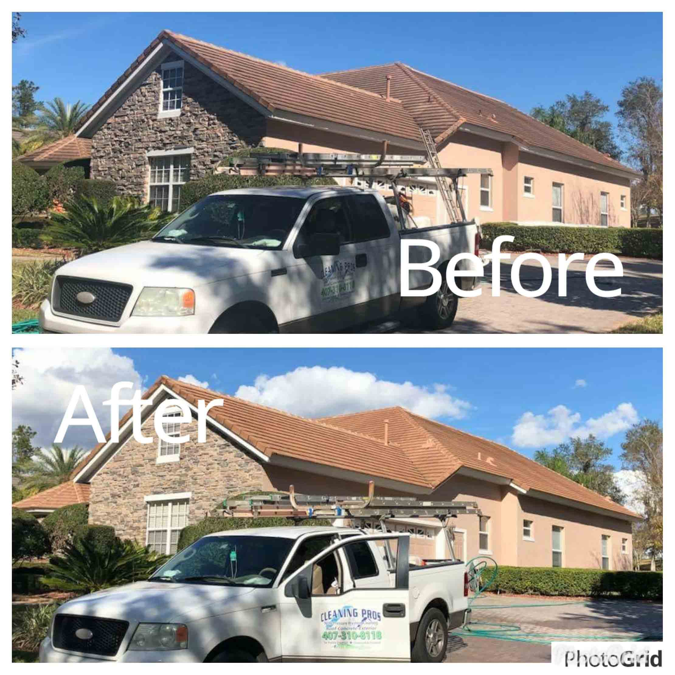 Roof Cleaning Service in Debary, FL